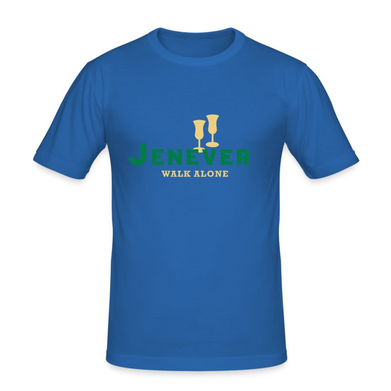 Jenever walk alone - slim fit T-shirt