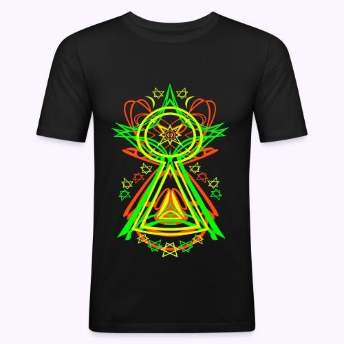 All Seeing Eye UV-Active - Slim Fit - Camiseta ajustada hombre