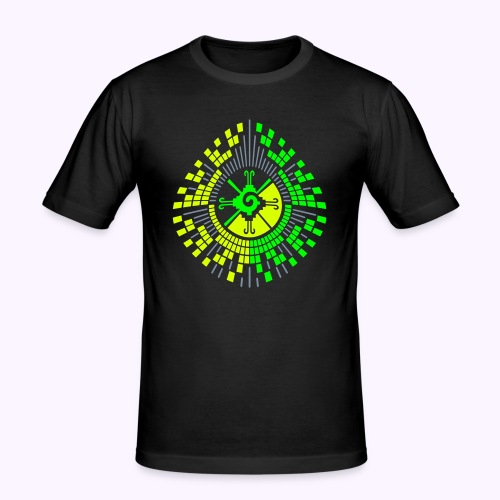 Hunab Ku DNA Tree UV Active - Slim Fit - Slim Fit T-shirt herr