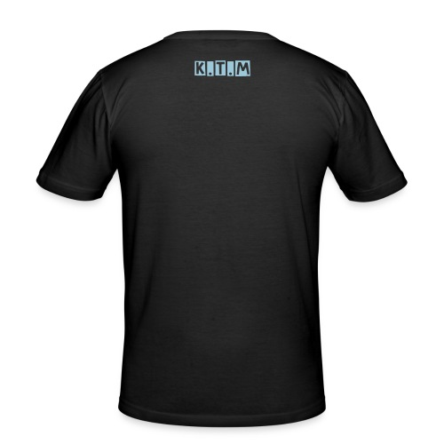 mens 'tabloid' tee - Men's Slim Fit T-Shirt