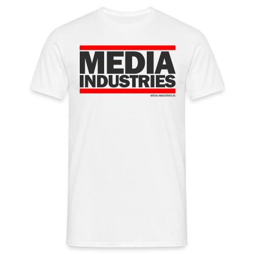 Media Industries - Wit - Mannen T-shirt