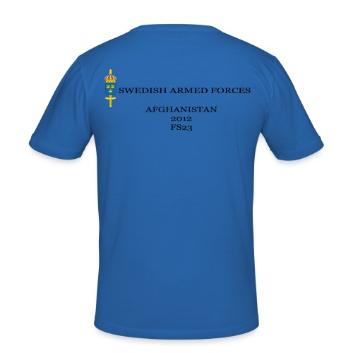 Swedish Armed Forces T-shirt, tight - Slim Fit T-shirt herr