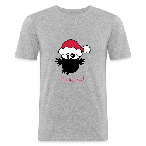 EULE // Weihnachten // Hui - Männer Slim Fit T-Shirt