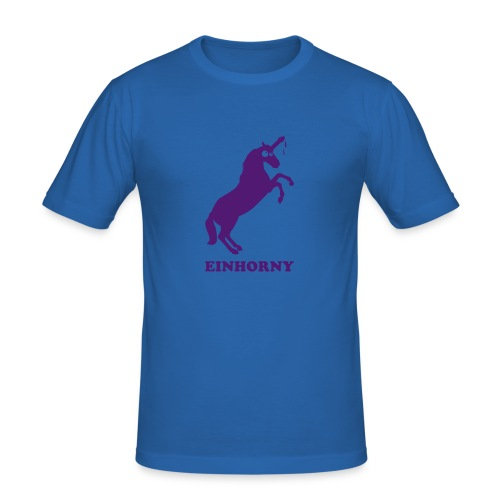 Einhorny - Männer Slim Fit T-Shirt