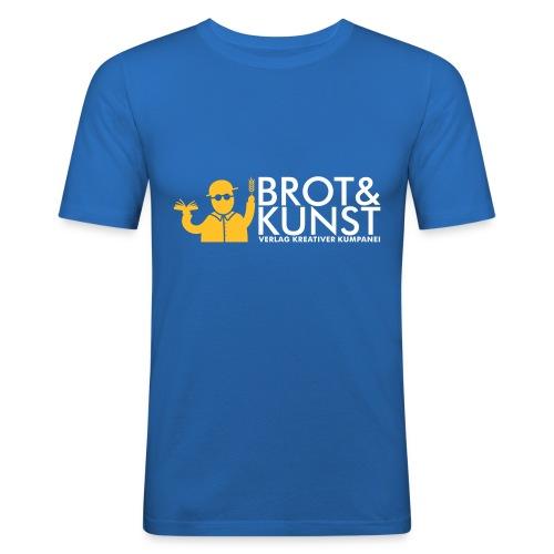 Brot&Kunst Verlagsshirt Jasmins Edition (Slim Fit) - Männer Slim Fit T-Shirt