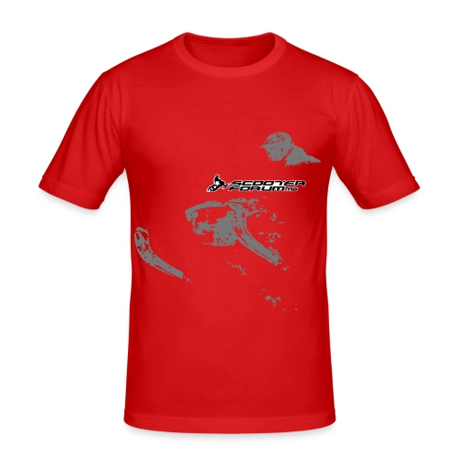 Slim-fit t-skjorte - Slim Fit T-skjorte for menn