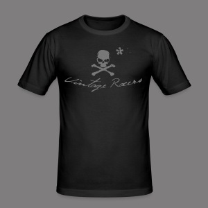Classic Motorcycle T-shirt Black - Tee shirt près du corps Homme