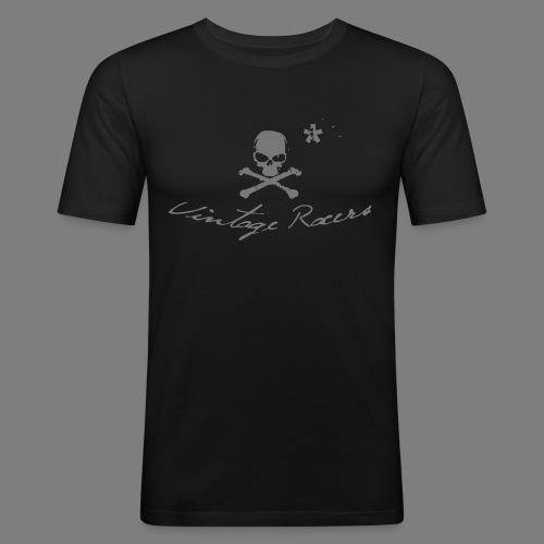 Classic Motorcycle T-shirt Black - T-shirt près du corps Homme