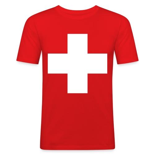 Croix Suisse - Men's Slim Fit T-Shirt