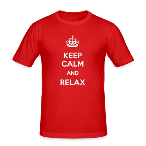 RELAX - Männer Slim Fit T-Shirt
