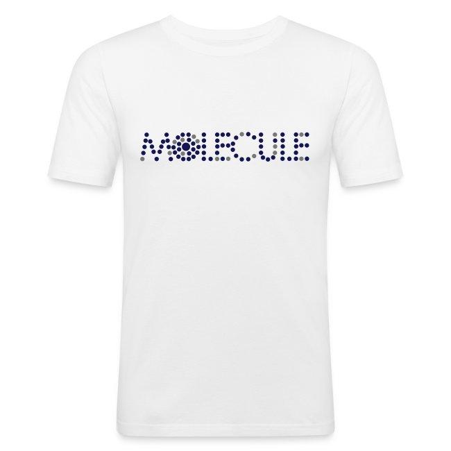 Molecule Recordings Slim-Fit T-Shirt [Male]