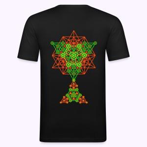 Equilibrium UV-Neon 2-Side Print - Slim-Fit - slim fit T-shirt