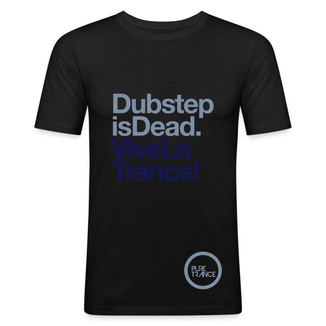 Dubstep Is Dead... [Male] Metallic / Navy Blue