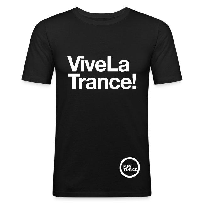 Vive La Trance! [Male] White on Black