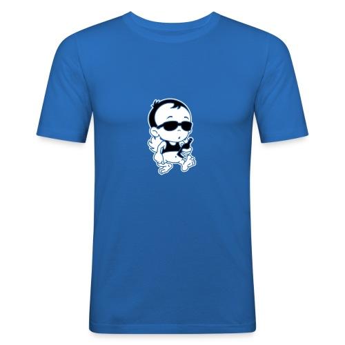 Engel Flügel Comic Angel Wings Funny Beer Bier Sun - Männer Slim Fit T-Shirt