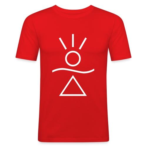 Honnaua ... energia da indossare -  Honnaua ... energy to wear. - Maglietta aderente da uomo