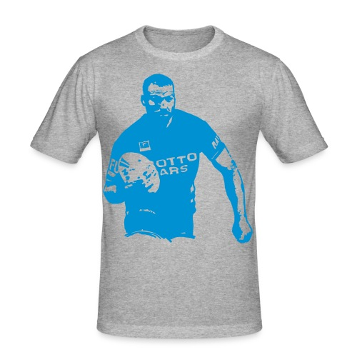 Rugby Player - Männer Slim Fit T-Shirt