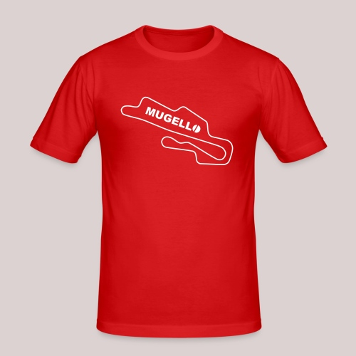 Race Track Mugello Ducati Superbike - Männer Slim Fit T-Shirt