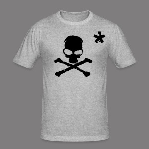 VR Big T-Shirt Grey - Tee shirt près du corps Homme
