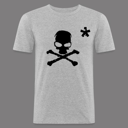 VR Big T-Shirt Grey - T-shirt près du corps Homme