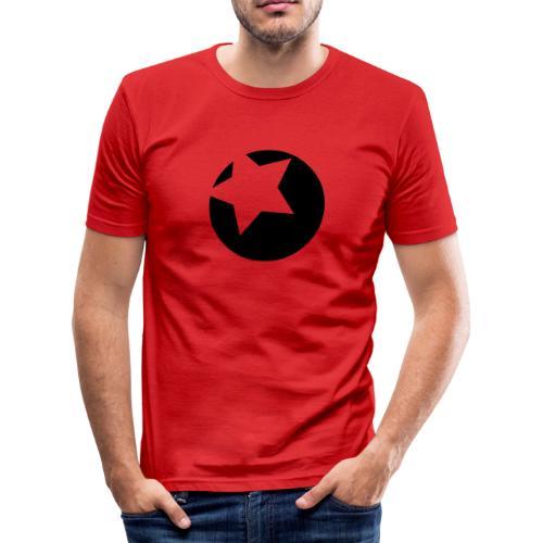 bola flock - Camiseta ajustada hombre