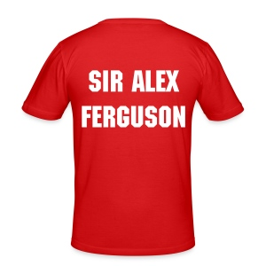 Tee-shit Man.United - SIR ALEX FERGUSON #TOUGH GUYS - Tee shirt près du corps Homme
