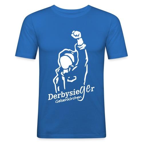 Derbysieger Shirt - Männer Slim Fit T-Shirt