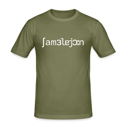 Cameleon - Männer Slim Fit T-Shirt