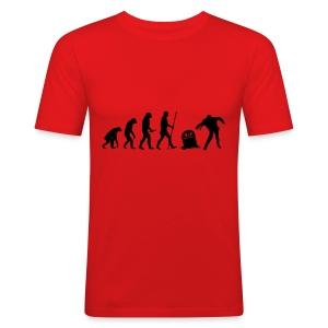Evolution - Männer Slim Fit T-Shirt