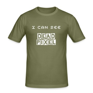 Dead Pixel - Männer Slim Fit T-Shirt