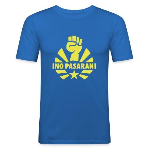 No Pasaran Fist Slim Fit Tee - Men's Slim Fit T-Shirt