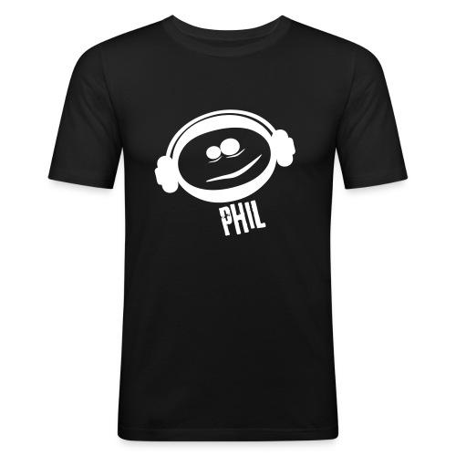 Phil Fit-Shirt S/W - Männer Slim Fit T-Shirt