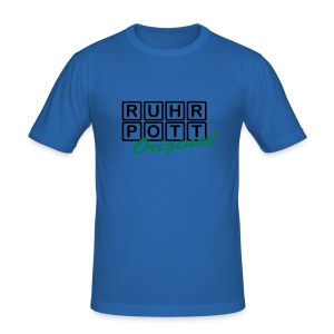 Ruhrpott Original - T-Shirt - Männer Slim Fit T-Shirt