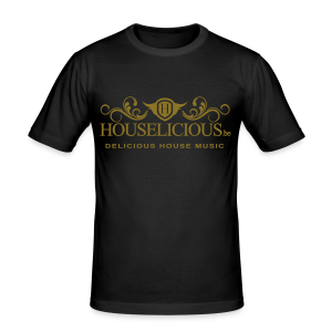 Houselicious Gold Print Slim Fit - slim fit T-shirt