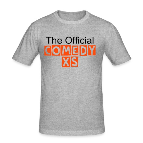 "The Official ComedyXS ""Grau"" - Männer Slim Fit T-Shirt"
