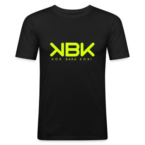 KBK Neongul - Slim Fit T-shirt herr