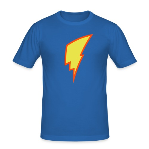 Lightning Bolt - Men's Slim Fit T-Shirt