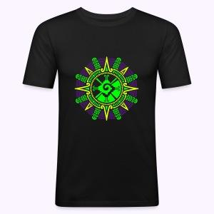 Moonstone Hunab Ku Men's Slim Fit Shirt - slim fit T-shirt