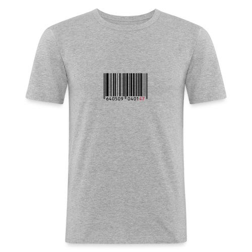 Hemd 'Strichcode 47' - Männer Slim Fit T-Shirt