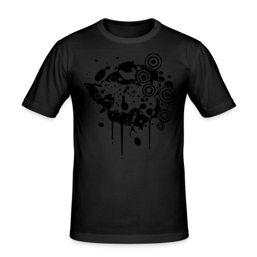 Zimbabwe Grunge - Men's Slim Fit T-Shirt