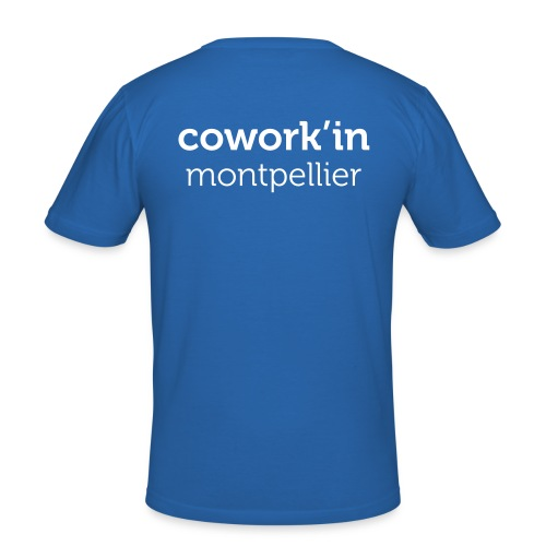Cowork'in Montpellier H - T-shirt près du corps Homme