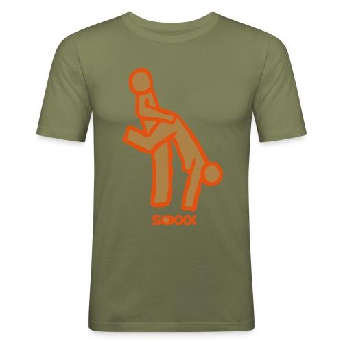Wheelbarrow - Men's Slim Fit T-Shirt
