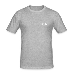 Complete Aesthetics Slim Fit Tee with Back Text - Men's Slim Fit T-Shirt