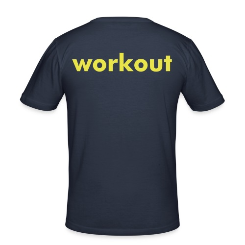 workout - Men's Slim Fit T-Shirt