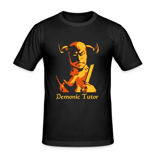Demonic Tutor - Männer Slim Fit T-Shirt