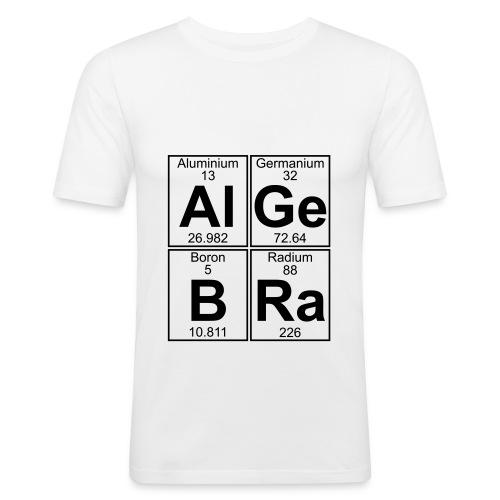 Al-Ge-B-Ra (algebra) - Men's Slim Fit T-Shirt