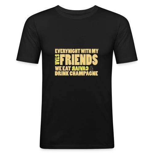 star_friends - Tee shirt près du corps Homme