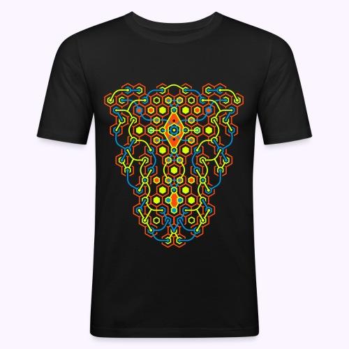 Cybertron UV Active Front - Slim Fit - Men's Slim Fit T-Shirt