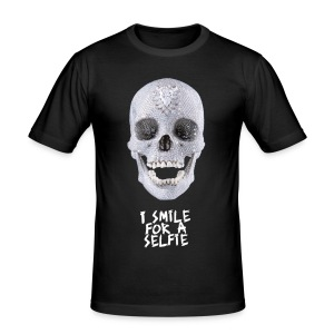 I Smile For A - slim fit T-shirt