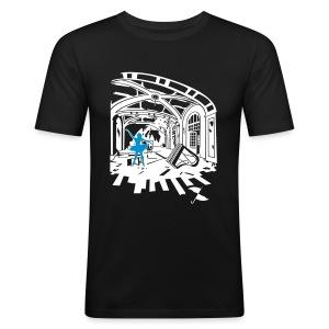 Breath of Dancing - Men's Slim Fit T-Shirt
